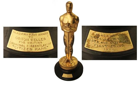 e8949c25cd4 Wellesův Oscar za Občana Kanea se vrací do aukce. Poněkolikáté ...
