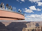 Vyhlídka Skywalk v Grand Canyonu
