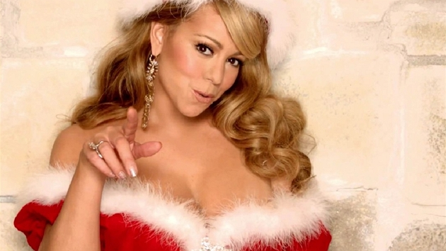 Zpěvačka Mariah Carey v nové verzi písně All I Want For Christmas Is You