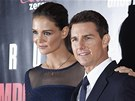 Tom Cruise  a Katie Holmesová na premiéře filmu Mission: Impossible - Ghost...