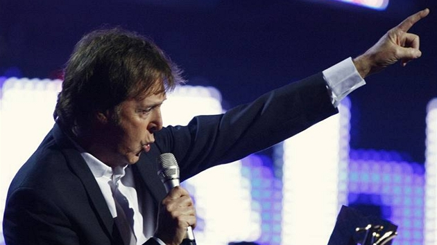 MTV Europe Music Awards - Paul McCartney - Liverpool (6. listopadu 2008)