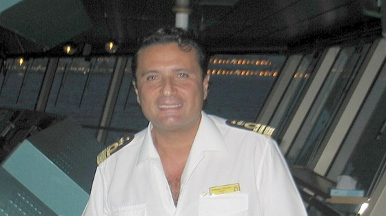 Kapitán lodi Francesco Schettino