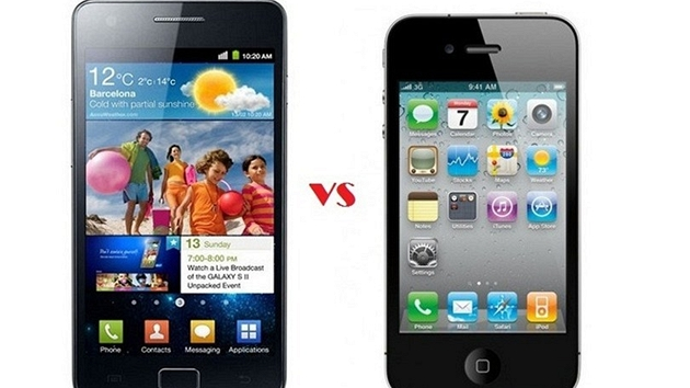 iPhone 4 vs Galaxy S II