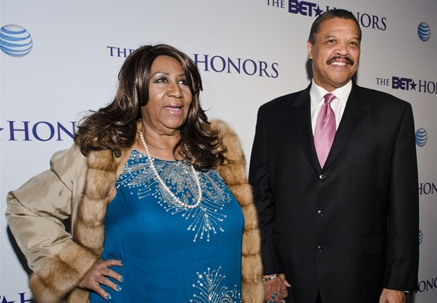 "Aretha Franklinová a William ""Willie"" Wilkerson"