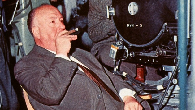 Alfred Hitchcock na place