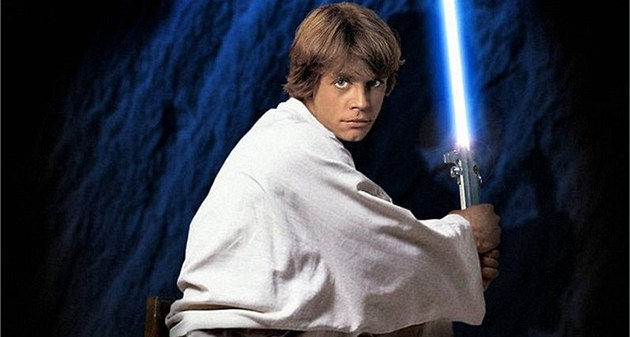Mark Hamill coby Luke Skywalker ve filmové sérii Star Wars