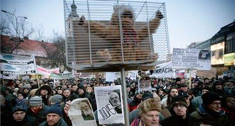 Protesty proti korupci v Bratislavě (10. února 2012)