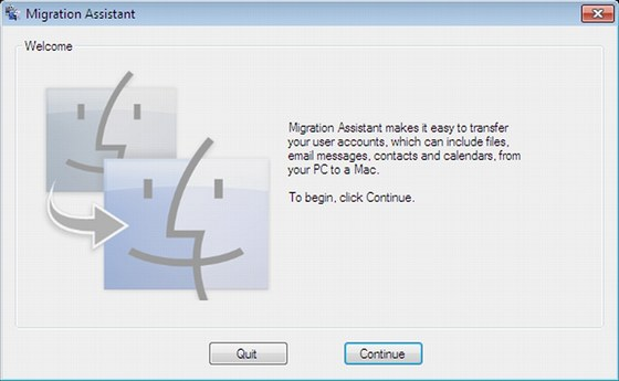 Windows Migration Assistant for Lion vám pomůže s přechodem z platformy Windows