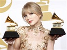 Grammy 2012 -  Taylor Swiftová (Los Angeles, 12. února 2012)