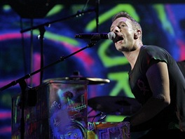 Grammy 2012 - Chris Martin a Coldplay (Los Angeles, 12. února 2012)