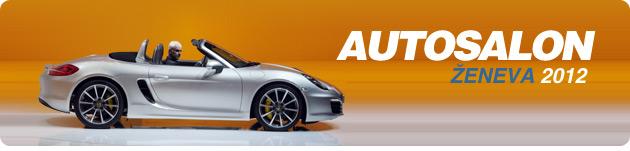 hlavička - Autosalon Ženeva 2012