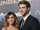 Miley Cyrusová a Liam Hemsworth (2012)