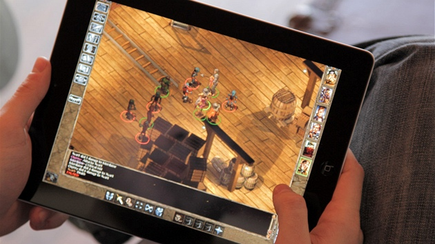 Baldur's Gate: Enhanced Edition pro iPad