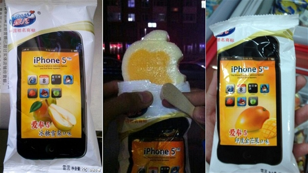 iPhone 5 ice cream