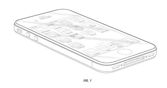 Patent Apple na design iPhonu 4