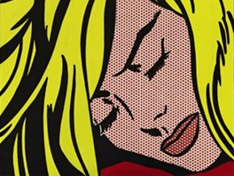 Roy Lichtenstein: Sleeping Girl (Spící dívka)