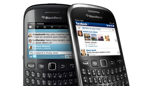 BlackBerry Curve 9220 a Curve 9320