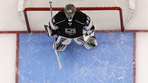 Jonathan Quick v brance Los Angeles Kings.
