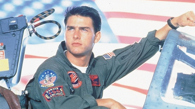 Tom Cruise ve filmu Top Gun (1986)
