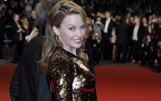 Kylie Minogue přijela do Cannes s filmem Holy Motors.