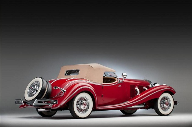 "Mercedes-Benz 500K ""Spezial Roadster"""