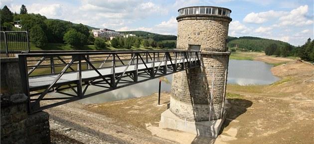 Povodí Moravy opravuje a čistí přehrady, pomáhají při deštích i suchu