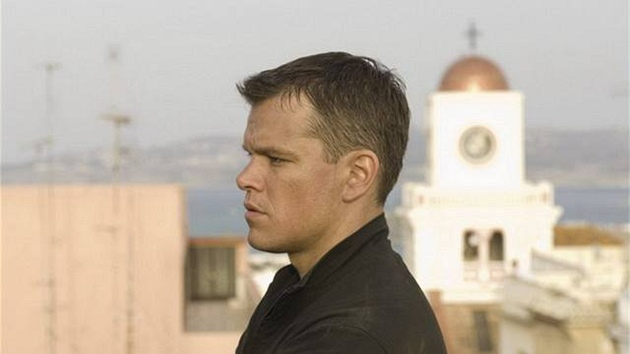 Matt Damon ve filmu Bourneovo ultimátum (2007)