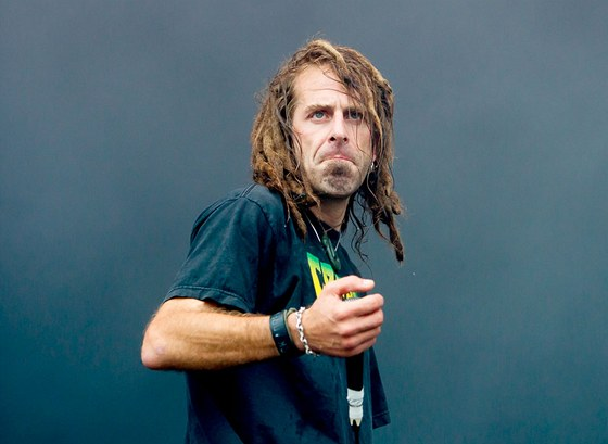 Zpěvák kapely Lamb of God Randy Blythe