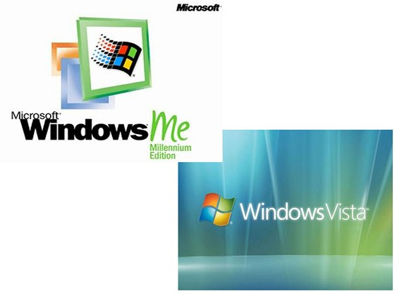 Windows ME a Vista
