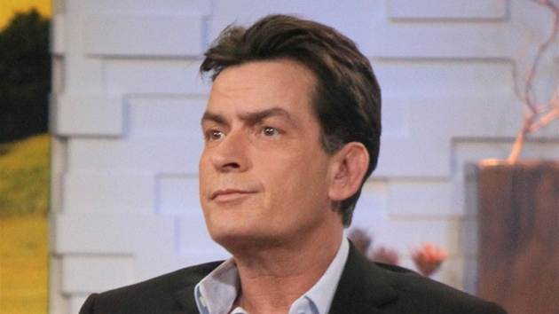 Charlie Sheen v pořadu Good Morning America