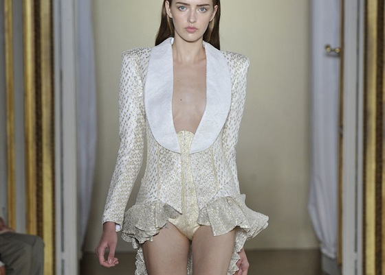 Worth Paris Haute Couture podzim - zima 2012/2013