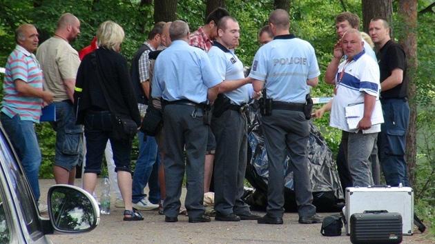 Svědectví jednoho z policistů zachytil Jiří Dyčka, který měl na starosti.