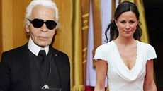 Karl Lagerfeld se obul do Pippy Middletonové.