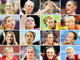 Krásky olympijských her v Londýně
