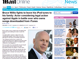 Bruce Willis bude bojovat (The Daily Mail)