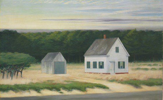 Edward Hopper: October on Cape Cod