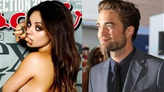 Mila Kunisová a Robert Pattinson
