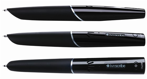 Pohled na pero Livescribe Echo