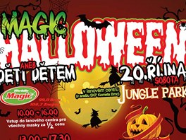 Magic Halloween v lanovém centru v Brně