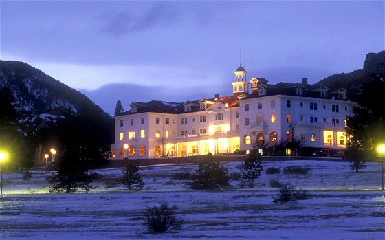 Stanley Hotel ve státě Colorado (USA)