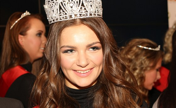 Miss Junior 2012 Tereza Řehořová