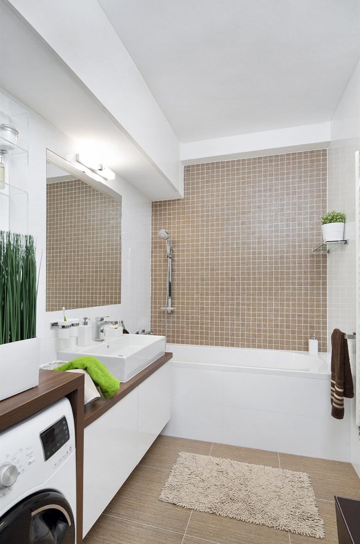 Malá koupelna obklady