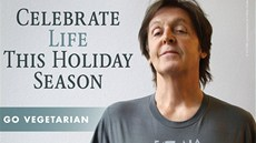 Nejezte krocany, nabádá vegetarián Paul McCartney.