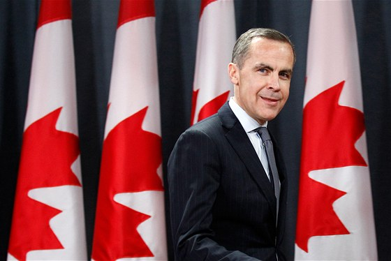Mark Carney, končící guvernér Bank of England