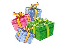 Výsledek obrázku pro vánoce dárky png