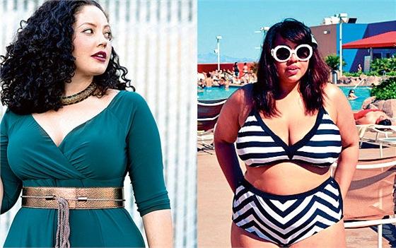 Módní blogerky XXL. Milují oblečení a za svou velikost se nestydí ... 366e8b61eb