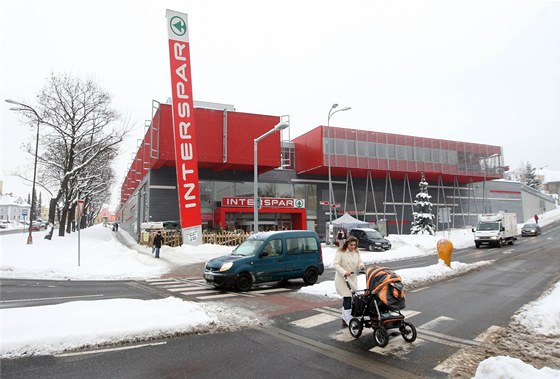 Supermarket Interspar v Liberci. cd2a72f3660
