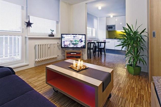 malý byt zařízení