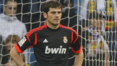 Iker Casillas v dresu Realu Madrid