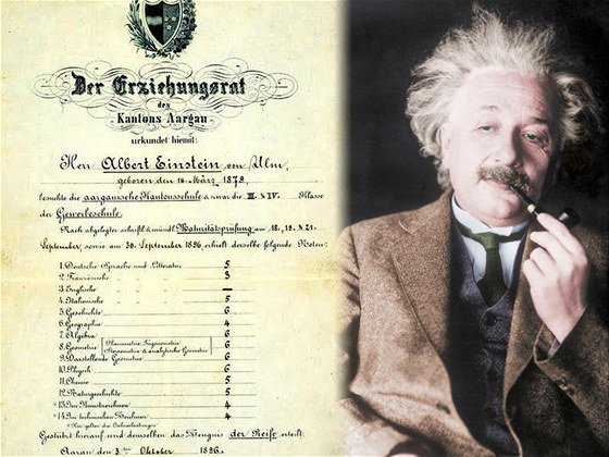 Mel Einstein Opravdu Petku Z Matematiky Ne Odmaturoval S Sestkami